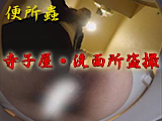 ハメ撮り|寺子屋・洗面所盗SATU|おまんこパイパン