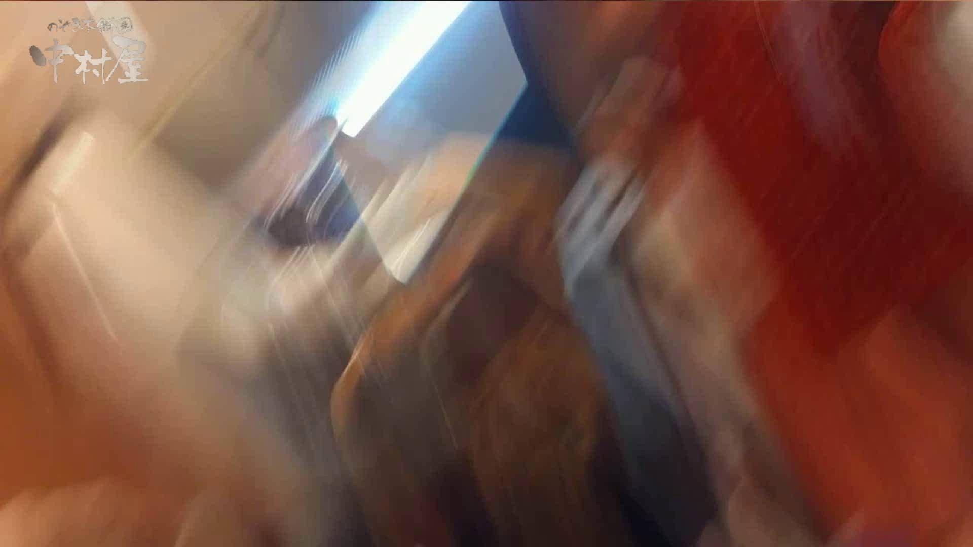 ハメ撮り|vol.69 美人アパレル胸チラ&パンチラ ストライプパンツみっけ!|のぞき本舗 中村屋