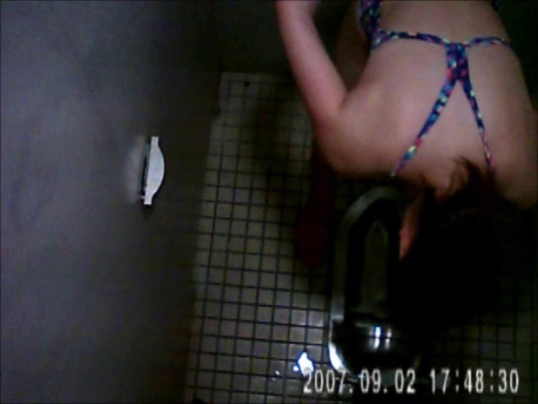 水泳大会選手の聖水 vol.028 洗面所はめどり   水着  89画像 19
