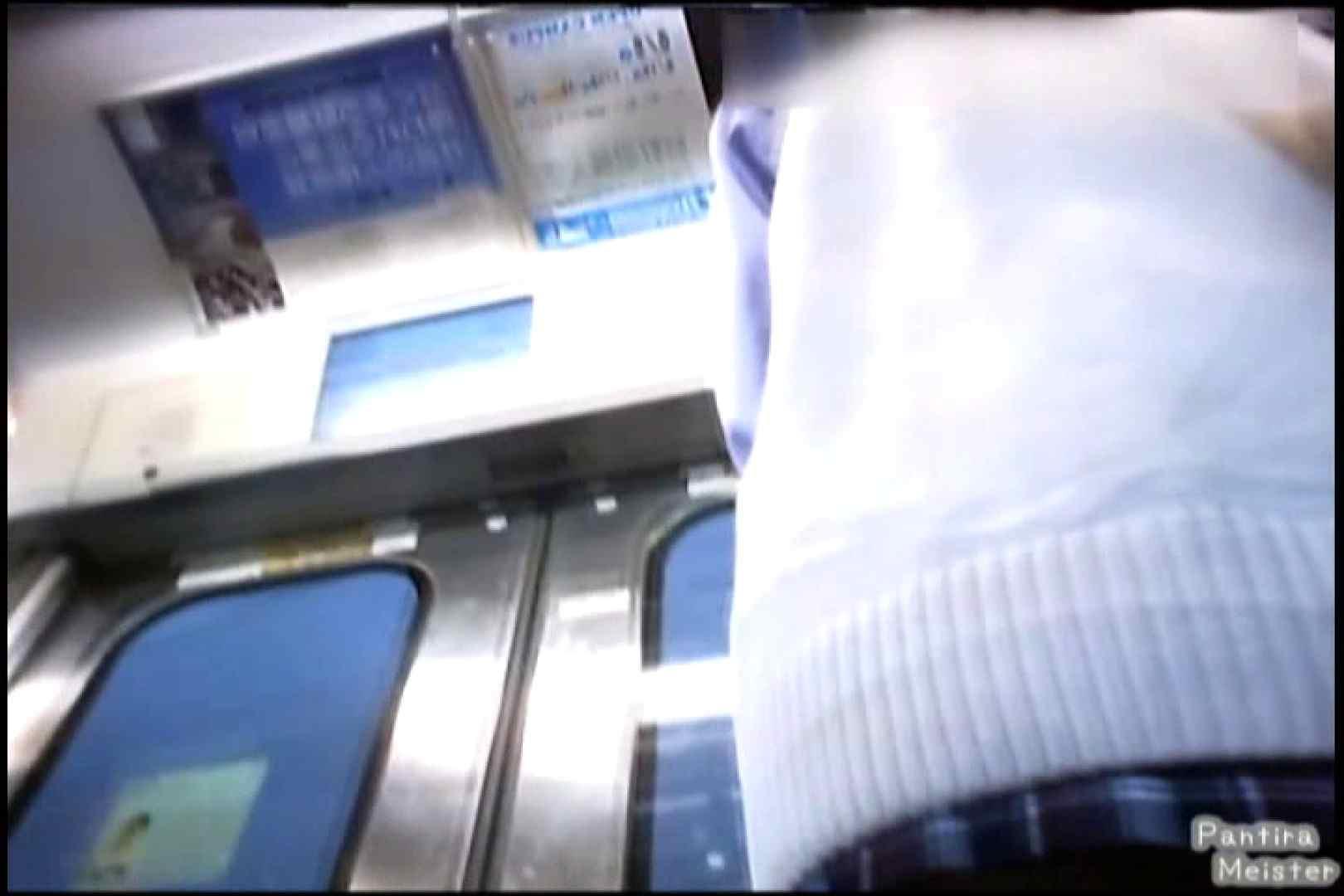 オリジナルパンチラNO.02通勤電車内、背中まで丸見え!! チラ 盗み撮り動画 73画像 62