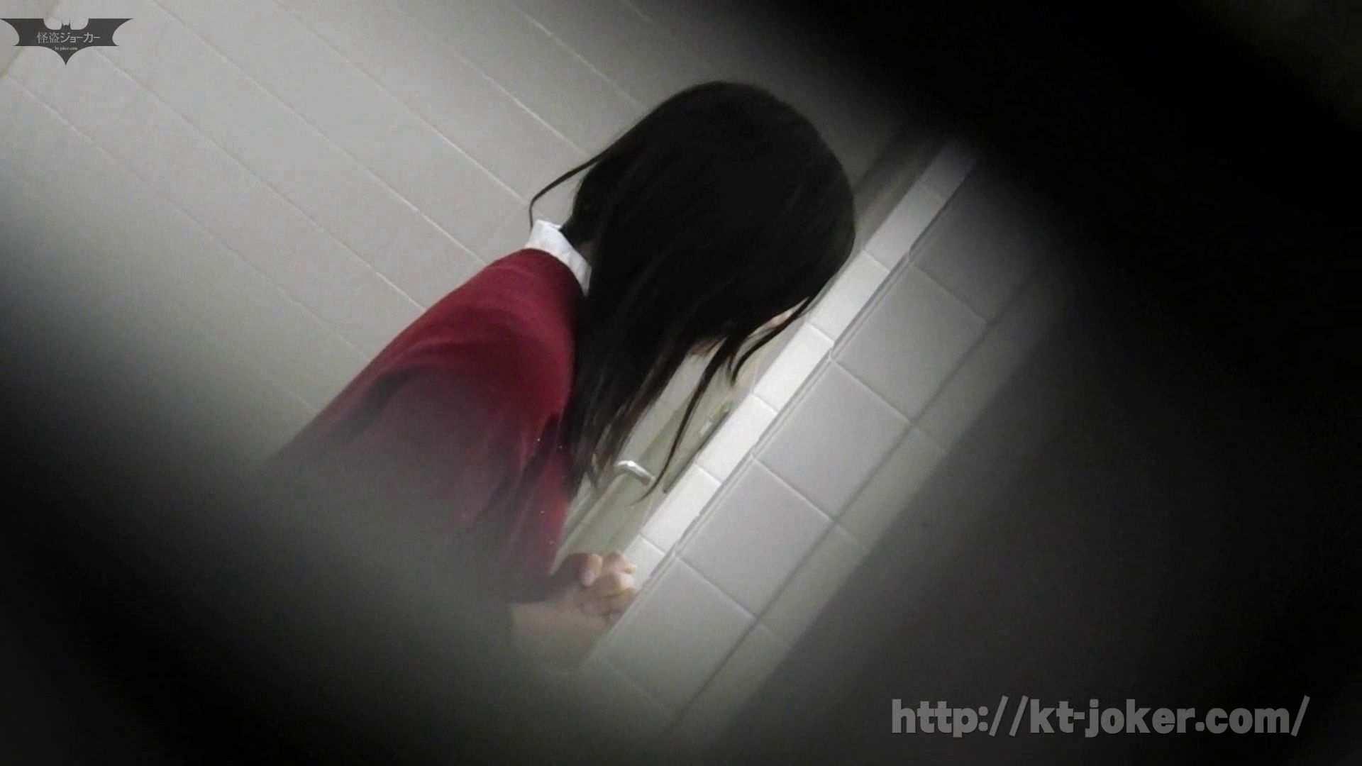 命がけ潜伏洗面所! vol.56 ピンチ!!「鏡の前で祈る女性」にばれる危機 洗面所はめどり  57画像 6