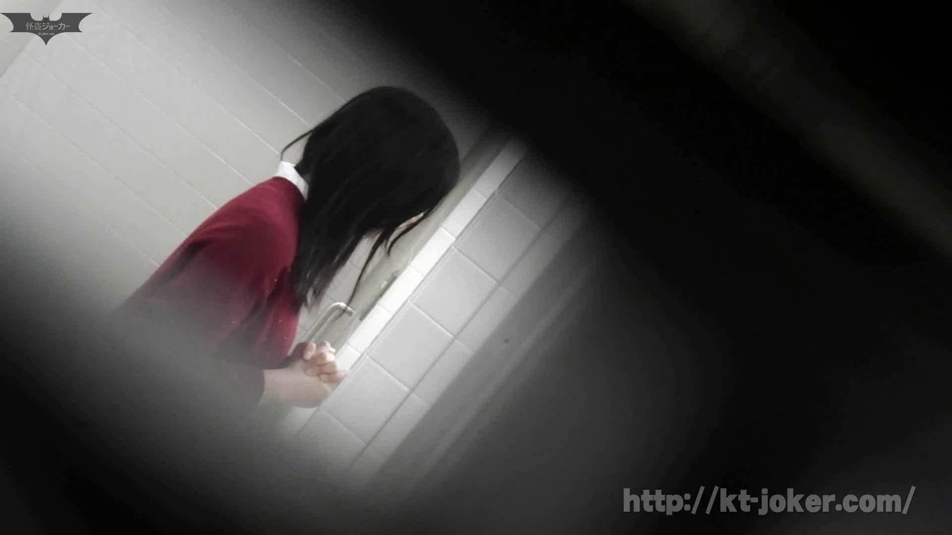 命がけ潜伏洗面所! vol.56 ピンチ!!「鏡の前で祈る女性」にばれる危機 洗面所はめどり  57画像 9