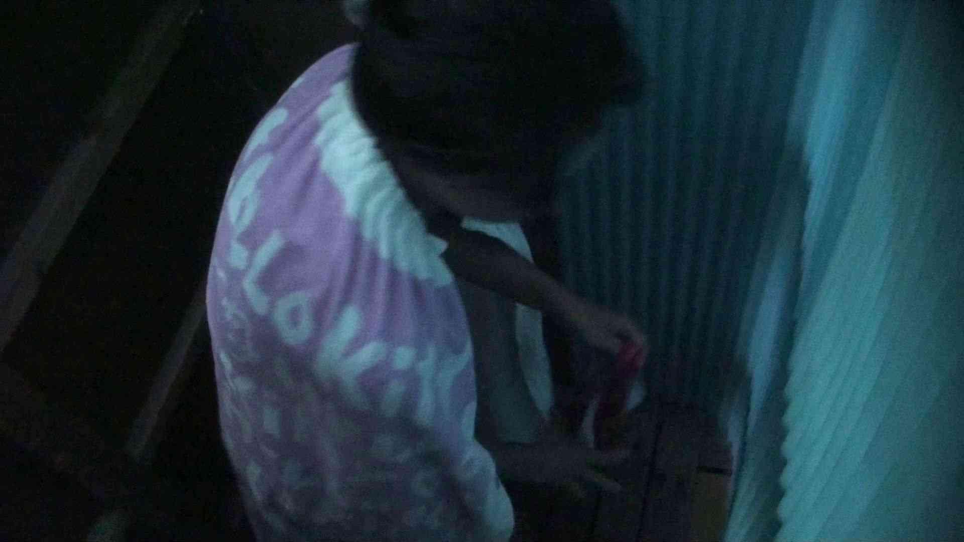 シャワールームは超!!危険な香りVol.26 大学生風美形ギャル 暗さが残念! 脱衣所の着替え 女性器鑑賞 95画像 63