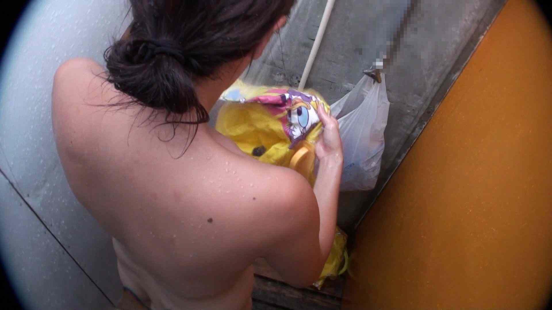 ハイビジョンシャワールームは超!!危険な香りVol.31 清楚なママのパンツはティーバック 脱衣所の着替え   エロティックなOL  103画像 49