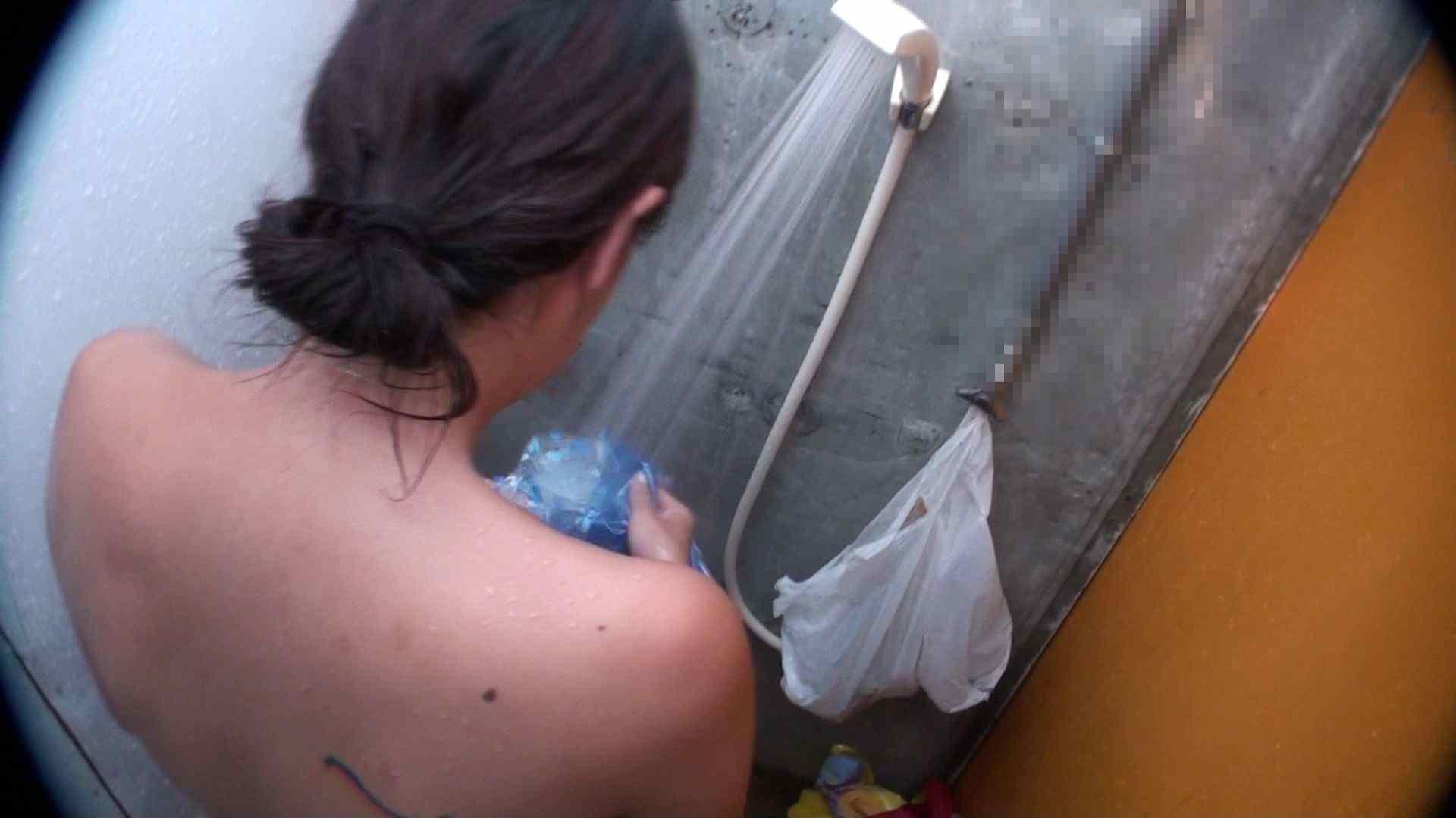 ハイビジョンシャワールームは超!!危険な香りVol.31 清楚なママのパンツはティーバック 脱衣所の着替え   エロティックなOL  103画像 70