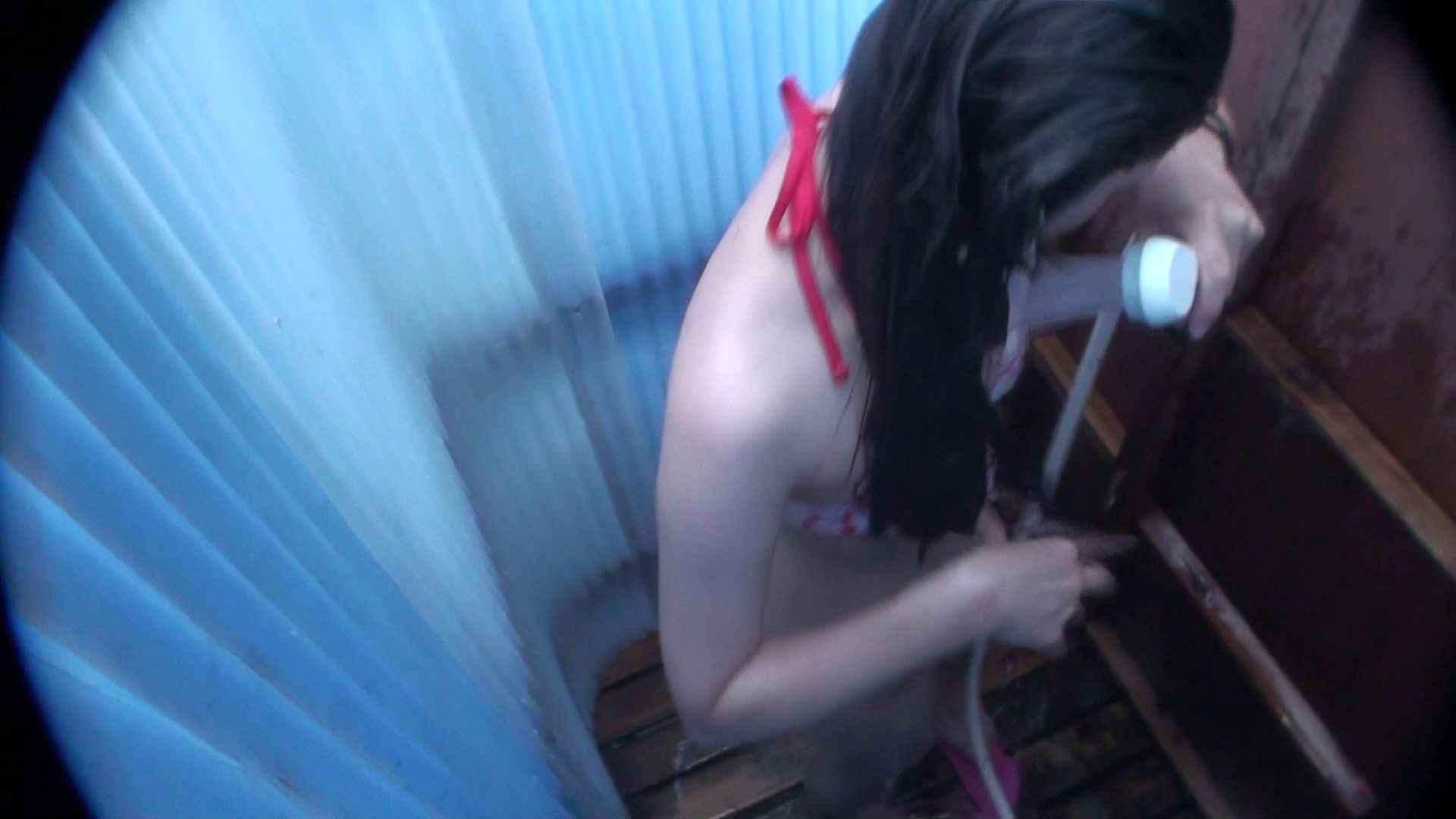 ハイビジョンシャワールームは超!!危険な香りVol.32 オッパイ隠して陰毛隠さず チラ見せ乳輪 チラ のぞき動画キャプチャ 87画像 6