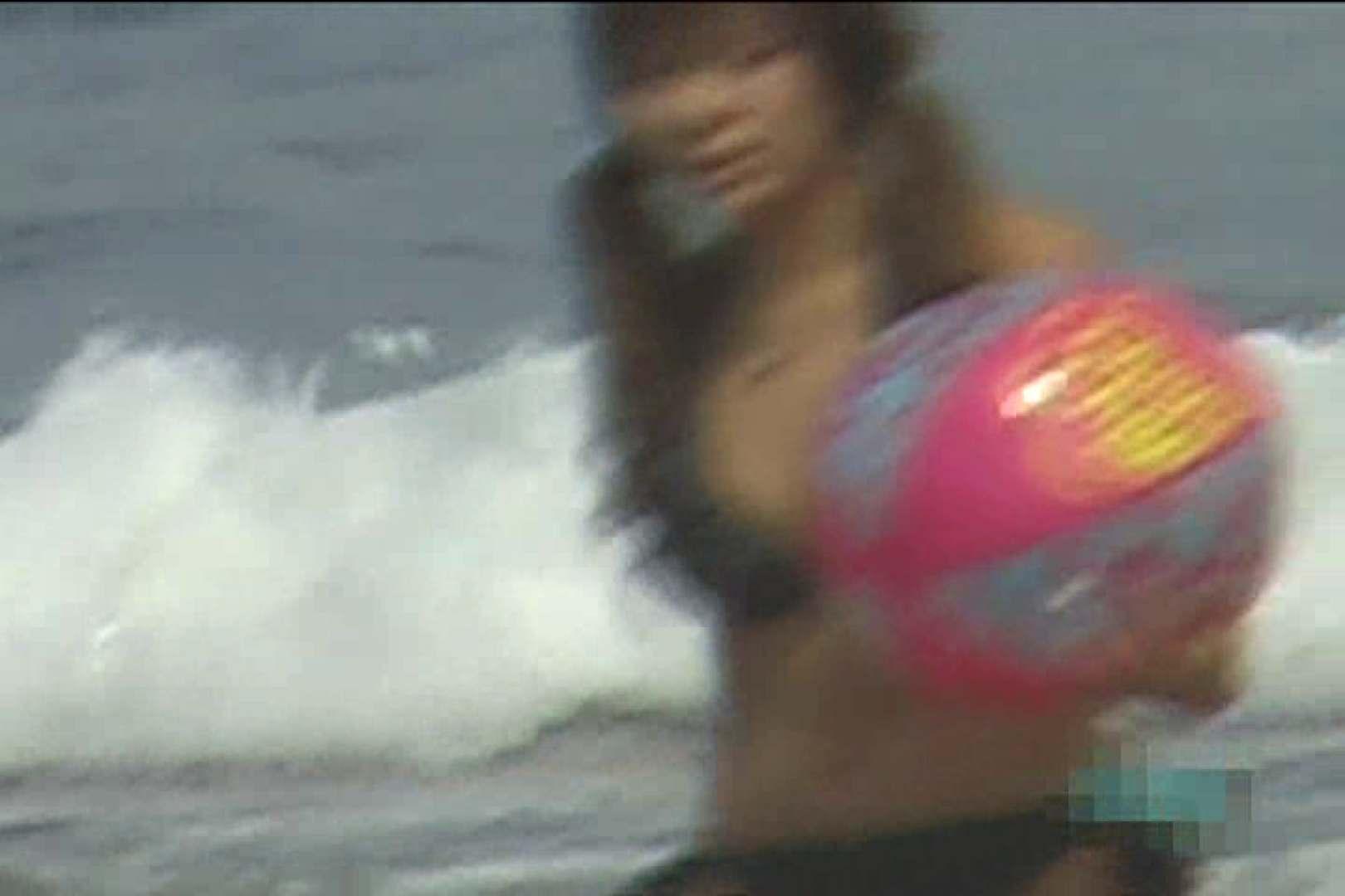 真夏のビーチは危険地帯Vol.3 ギャルのエロ動画   ワルノリ  79画像 6
