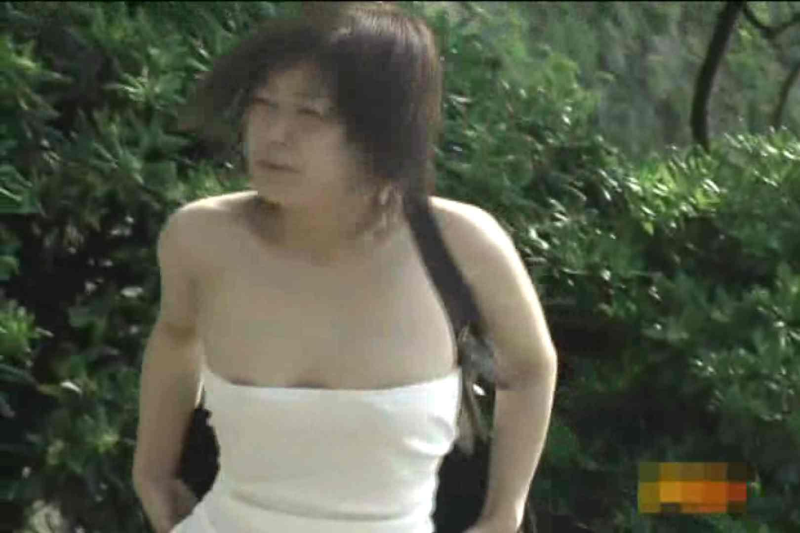 大胆露出胸チラギャル大量発生中!!Vol.1 乳首 オメコ動画キャプチャ 98画像 40