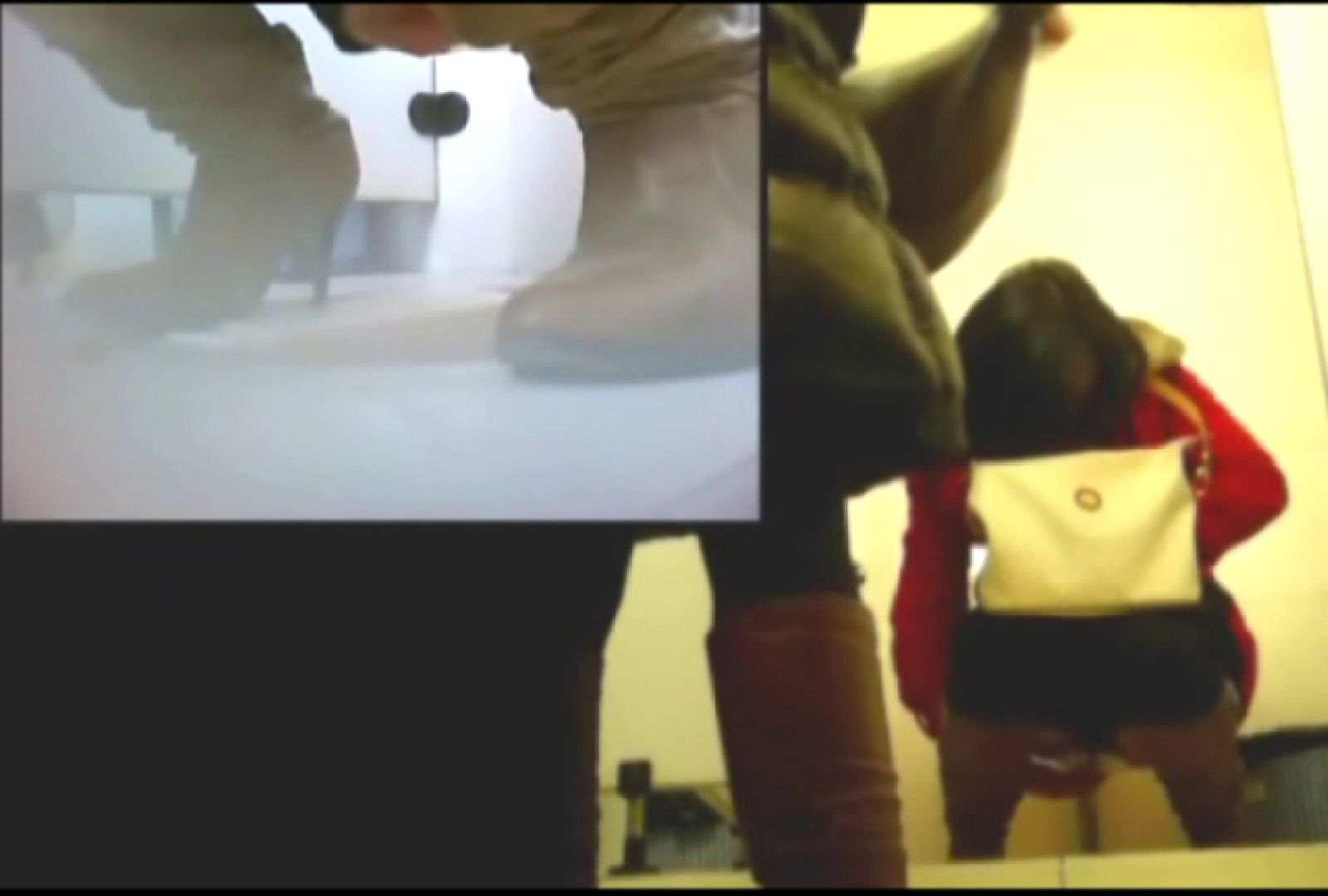 洗面所で暗躍する撮師たちの潜入記Vol.4 和式 われめAV動画紹介 104画像 24